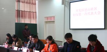 岜山社区第一次妇女代表大会成功召开