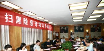 岜山村召开扫黑除恶专项斗争动员大会