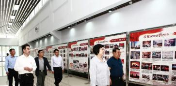 市领导毕荣青考察岜山中医药健康旅游示范基地创建工作