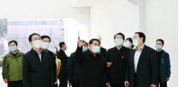 省委统战部领导到岜山集团调研复工复产工作