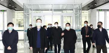 省督导组到岜山中医药健康旅游示范基地调研督导