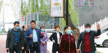 淄博市爱卫会督导组到岜山集团调研督导创卫工作