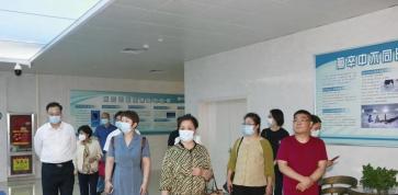 山东省工信厅刘晶一行到岜山中医药健康旅游示范基地参观调研